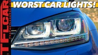 These Are The Top 5 New Cars With the Best (and Worst) Headlights!