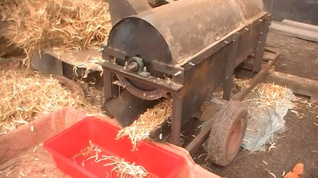 Комбайн для зерна своими руками