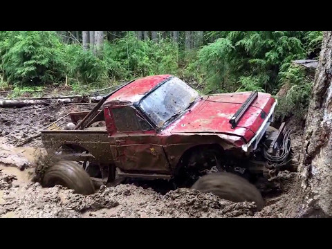 Elbe Hills 5.13.17 Busy wild, Mainline and Alder rocks Jeep's out of Comission
