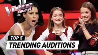 TRENDING Blind Auditions of 2019 in The Voice Kids