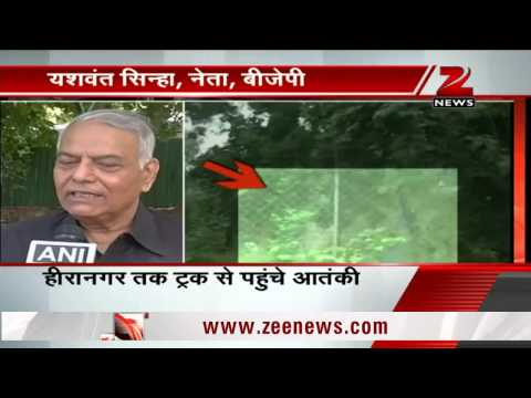 India should not hold talks with Pakistan: BJP leader Yashwant Sinha