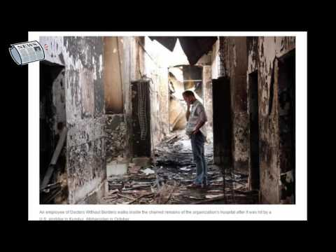 [News Of The Day]Pentagon Report Says Airstrike On Afghan Hospital Wasn't A War Crime
