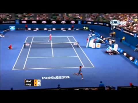 Ana Ivanovic vs Samantha Stosur Australian Open 2014 Highlights