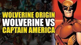 Wolverine vs Captain America (Wolverine Origins Vol 1: Born In Blood)
