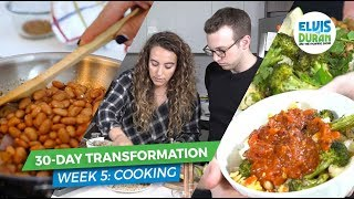 Quick and Easy Healthy Meals with My Nutritionist | Elvis Duran Exclusive