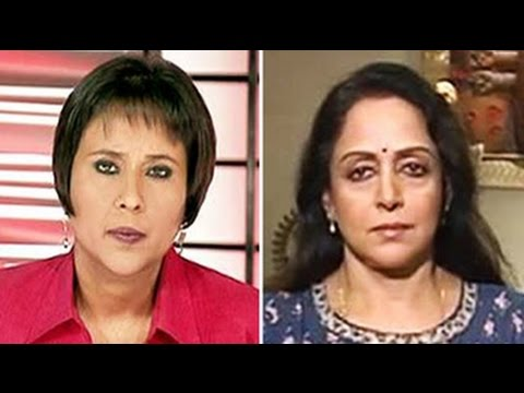 Vrindavan widows should not beg - Hema Malini to NDTV