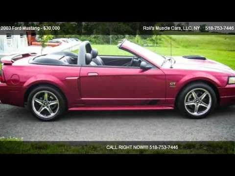 2003 Ford Mustang GT Deluxe - for sale in Schaghticoke, NY 12154