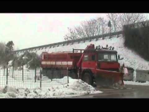 Continua l'emergenza neve nelle Marche