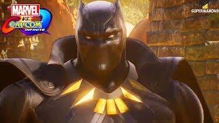 Marvel vs Capcom Infinite: Story Mode E3 Trailer! - Black Panther, Thanos & More