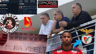 Cobrança de torcedores nos muros da Gávea e do Ninho! VP de futebol curte #FORAABEL Mercado da bola!