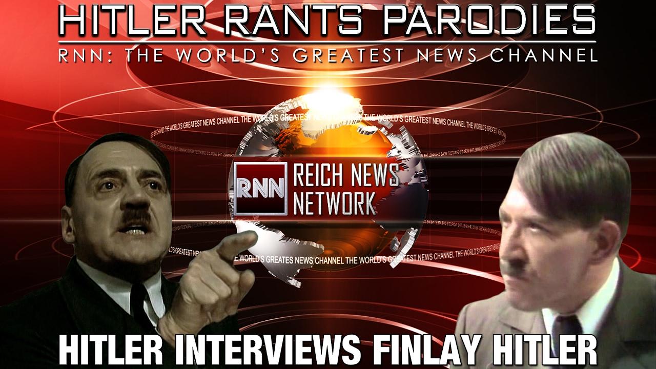 Hitler interviews Finlay Hitler