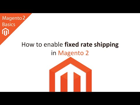 How to Set Up Fixed Rate Shipping in Magento 2
