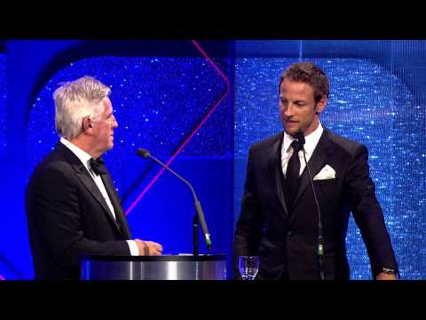 Jenson Button - AUTOSPORT Awards 2014