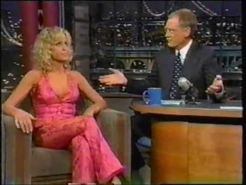 Farrah Fawcett on David Letterman