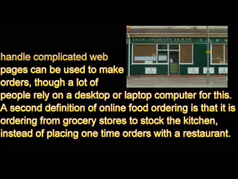What Is Online Food Ordering?