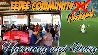 Harmony & Unity | Eevee Community Day | Shawnee Pokemon GO
