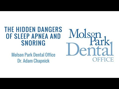 The Hidden Dangers of Sleep Apnea and Snoring | Molson Park Dental Office | Barrie Dentist