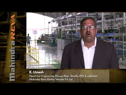 Umesh Krishnappa - Mahindra REVA - Future Of Mobility