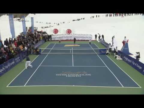 Roger Federer vs. Lindsey Vonn - OFFICIAL #ChocolateHeaven Event