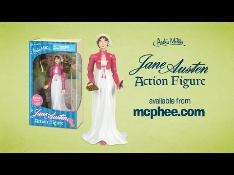Jane Austen Action Figure Archie McPhee