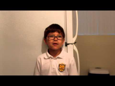 Connor's raising money for St Vincent's School