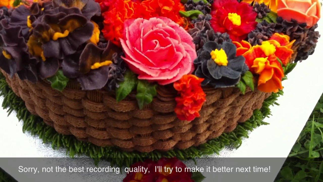 Flower Designs Cakes