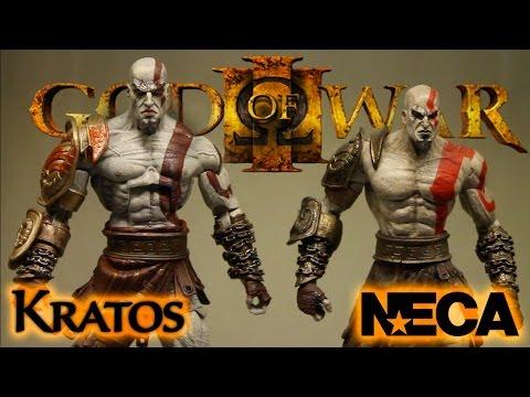 NECA: God of War III Kratos Action Figure Review (Ultimate)