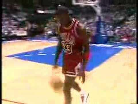 NBA Slam Dunk Contest 1988 - Michael Jordan Vs. Dominique Wilkins