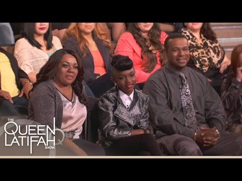 Janelle Monáe Shows Her Biggest Fan #GirlsCan | The Queen Latifah Show