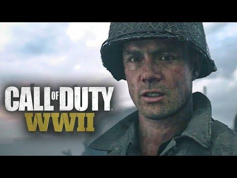 Call of Duty WW2 Gameplay German Story Mode (Xbox One X) #01 - Schlacht um die Normandie