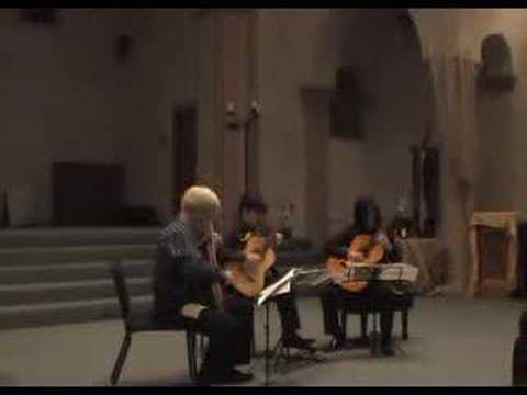 Evocacion from Suite Iberia by Albeniz for Three Guitars