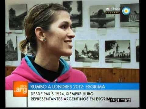 Vivo en Argentina - Deportes 2012: Esgrima - 21-05-12