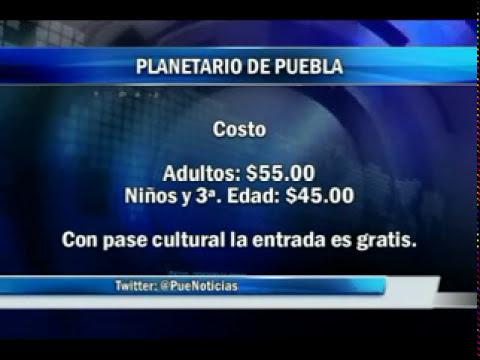 Un día en el planetario de Puebla