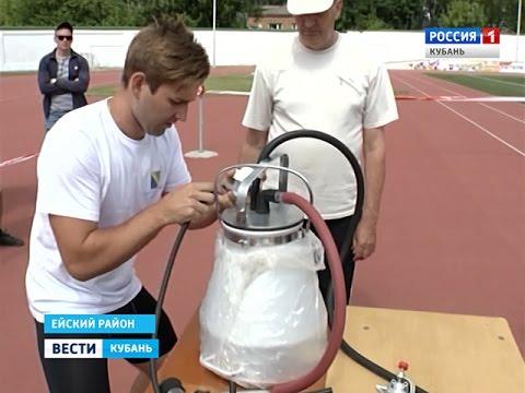 На Кубани прошли сельские спортивные игры
