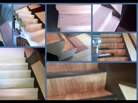 Kit r novation escalier bois genas 69740 youtube Kit de renovation escalier
