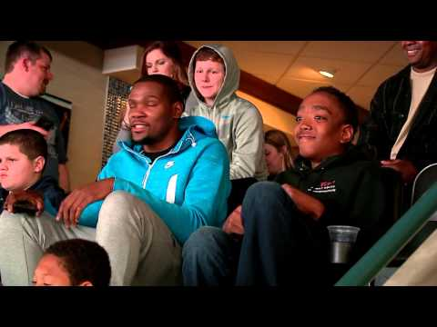 Make-A-Wish with Russell Westbrook and Kevin Durant