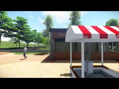 后里馬場園區3D模擬動畫