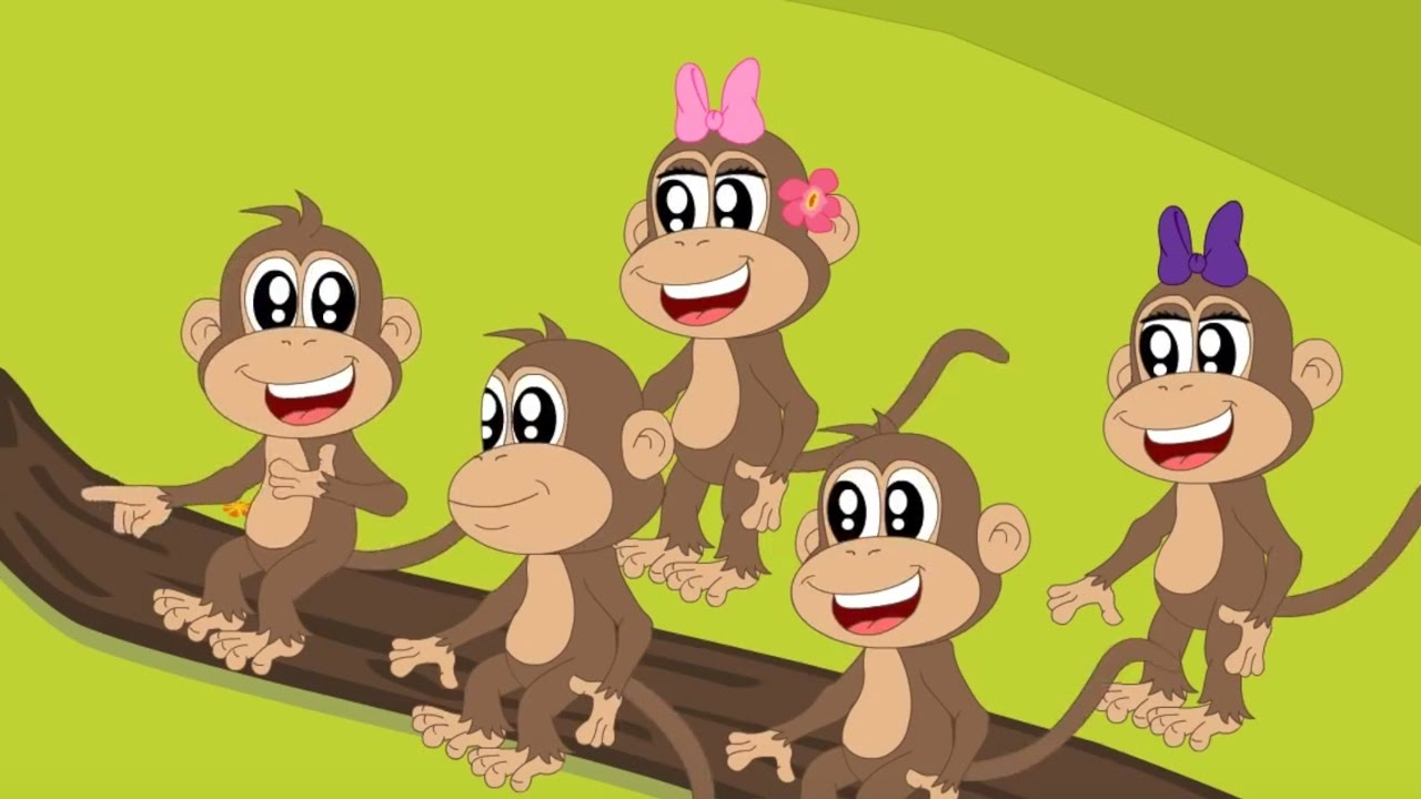 Five Little Monkeys Kids Tv