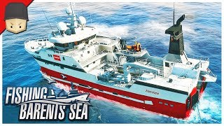 Fishing: Barents Sea - FIRST LOOK | ALL SHIPS UNLOCKED