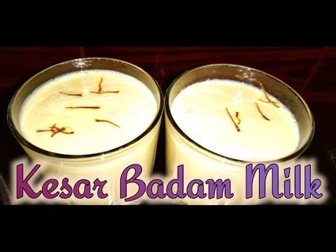 Badam Milk//Kesar Badam Milk//Almond Milk//Badam Milk Shake