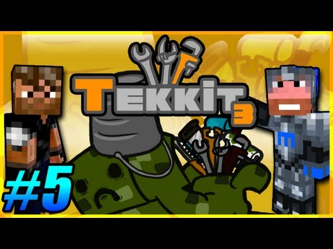 Tekkit Pt.5 |I Like Gold LLC.| Craft time