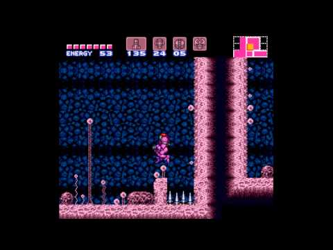 Super Metroid - 100% Speedrun 1:14 - User video