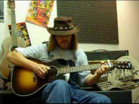 Truck My Blues Away - Blind Boy Fuller - Gibson L00 Blues King - Ariberto Osio