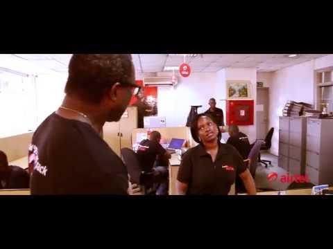 Airtel Uganda Happy Dance (Happy - Pharrell Williams)