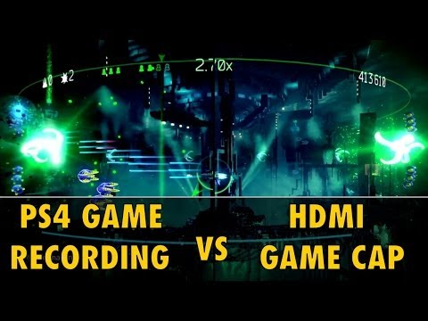 PS4 Game Recording Vs External Capture Amp Xbox One Does