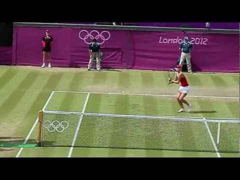 London Olympics 2012 Maria Sharapova vs Maria Kirilenko