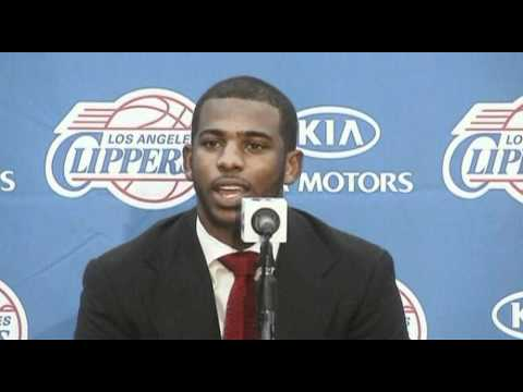 Chris Paul on joining Los Angeles Clippers