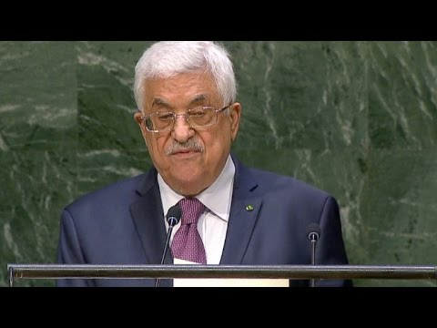 Abbas acusa Israel de genocídio em Gaza