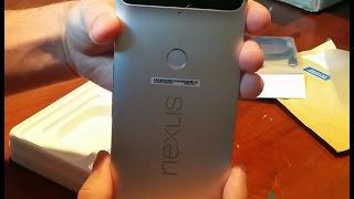 Распаковка (или анонс полного обзора) Huawei Nexus 6p