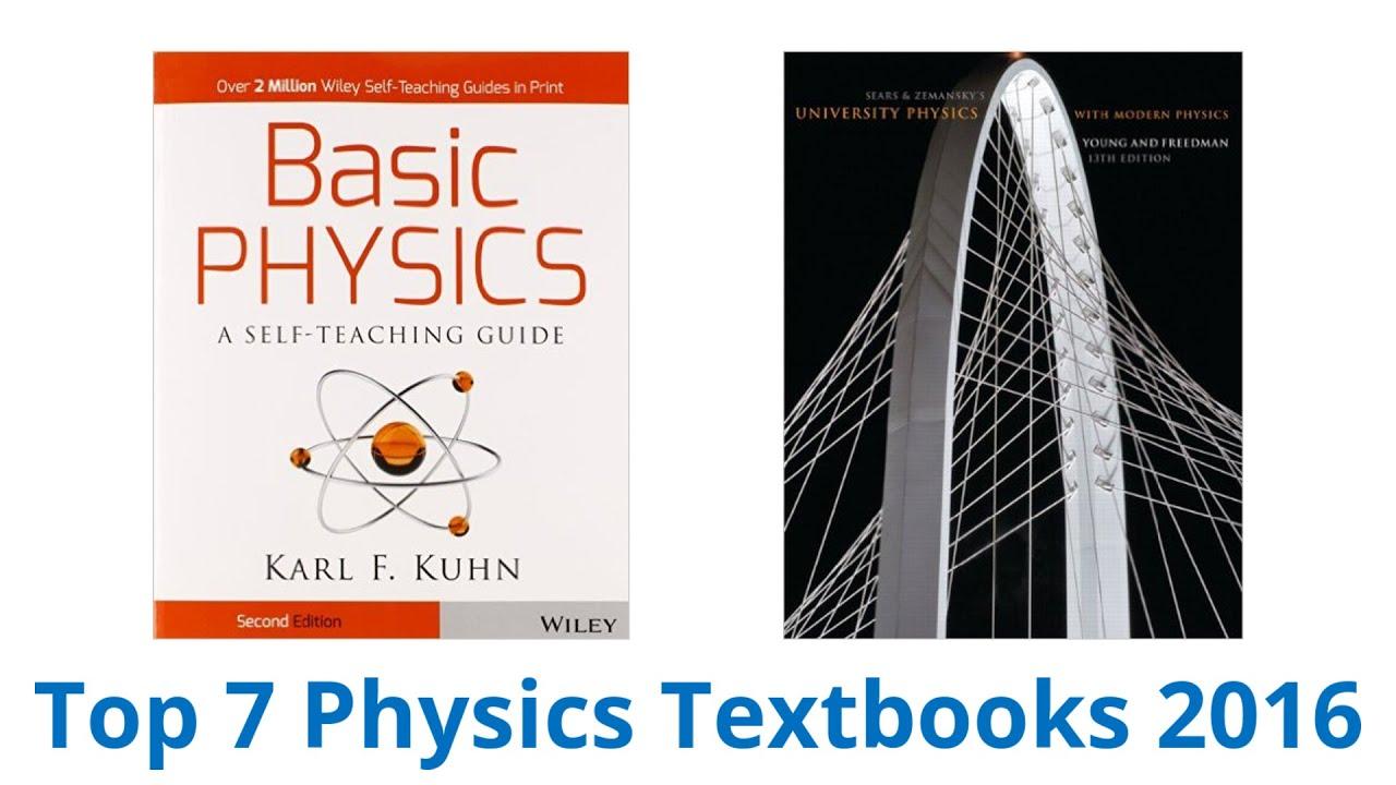 7 Best Physics Textbooks 2016